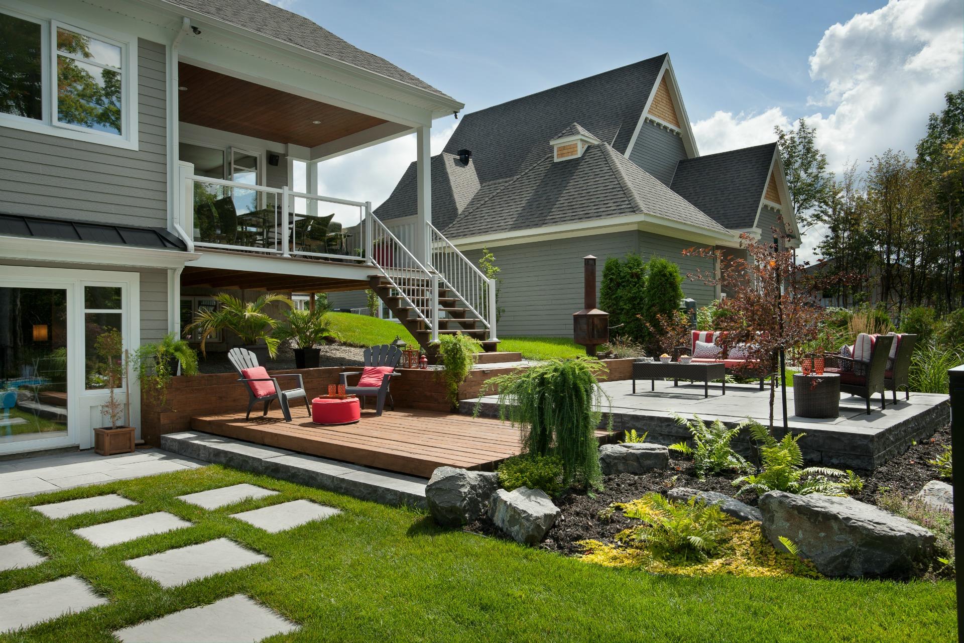 meilleur de amenagement cour devant maison l 39 id e d 39 un tapis de bain. Black Bedroom Furniture Sets. Home Design Ideas