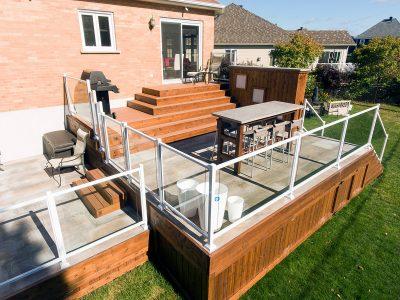 Terrasse nouveau style