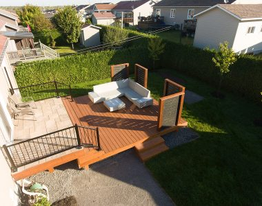 Élégant patio