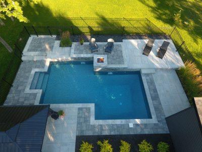 La piscine de feu
